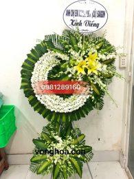 vòng hoa trắng sài gòn