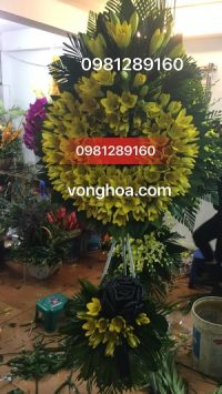 vòng hoa ly vàng