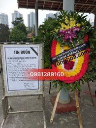 gửi điện hoa tang lễ