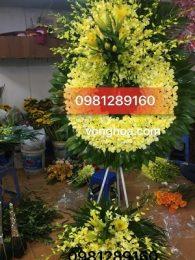 vòng hoa sài gòn lan vàng