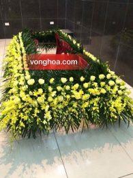 Trang trí xe hoa, bàn thờ viếng tang lễ