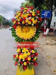 Vòng hoa tang lễ tại Tp Hà Tĩnh