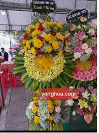 vòng hoa tang lễ hà tĩnh